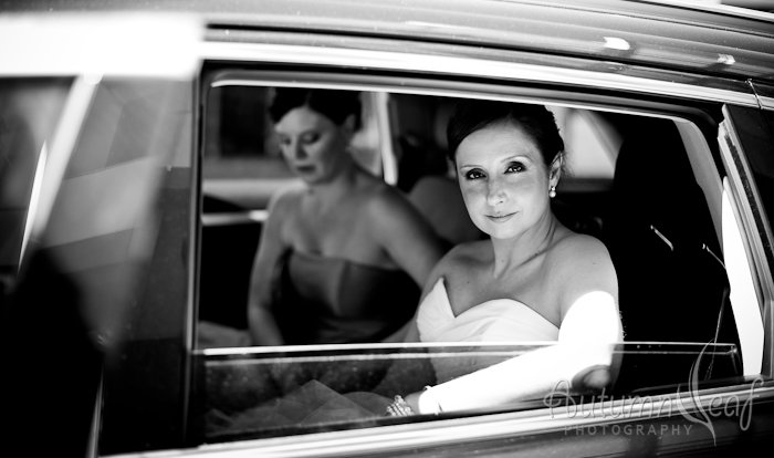 Simone and Jeremy Wedding - Going To Church (by Autumnleaf Photography)