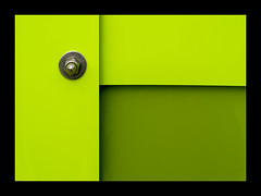 Abstracción en verde