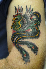Phoenix Traditional Tattoo by KeelHauled Mike Black Anchor Tattoo Denton Maryland (KeelHauled Mike) Tags: black mike phoenix tattoo by dc washington metro traditional maryland baltimore area anchor denton keelhauled wwwkeelhauledmikecom wwwblackanchortattoocom