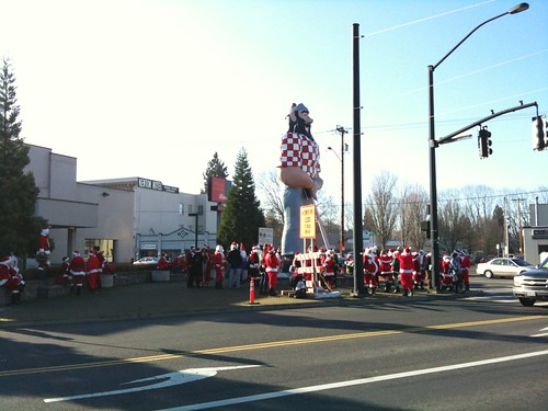 North Portland Anticon / Santacon