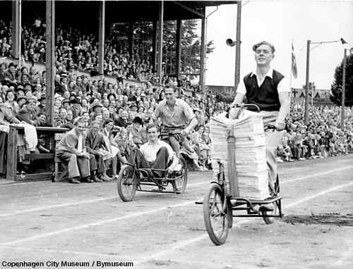 Copenhagen Cargo Bike Race 1950