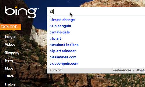 Bing & Climategate