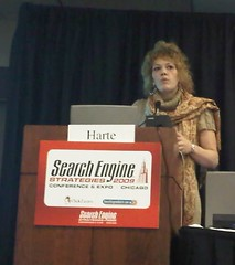 Liana Evans presenting at SES Chicago 2009