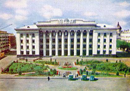 Житомир. Площадь Ленина. 1963 год
