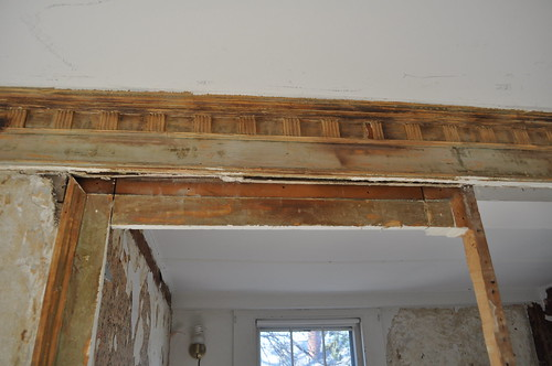Wood Moulding Stripped
