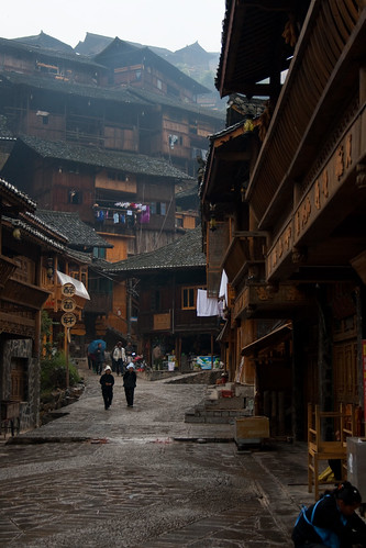 Downtown Xijiang (by niklausberger)