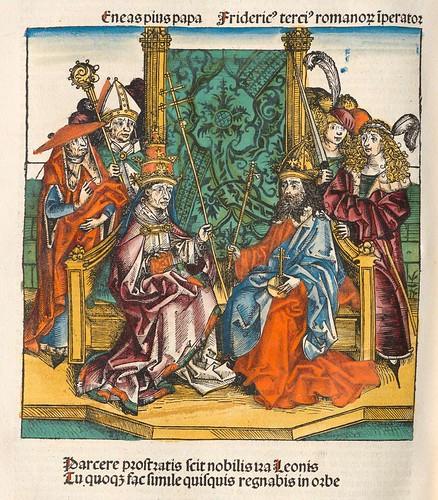 Eneas Pius Papa - Liber Chronicarum (Hartmann Schedel, 1493)