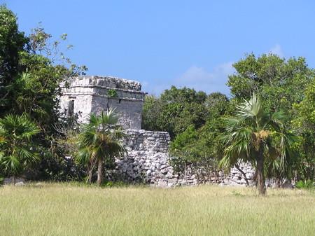 Tulum ruins watchtower