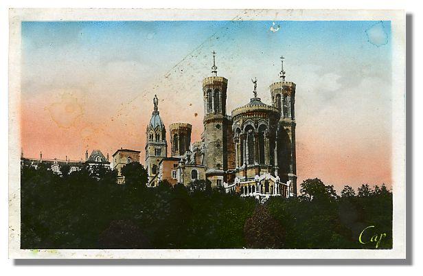 182 LYON Notre-Dame de Fourvière - L'Abside