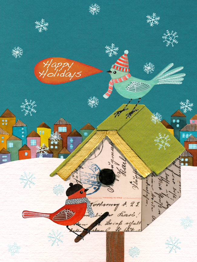 Storey Publishing's holiday company card
