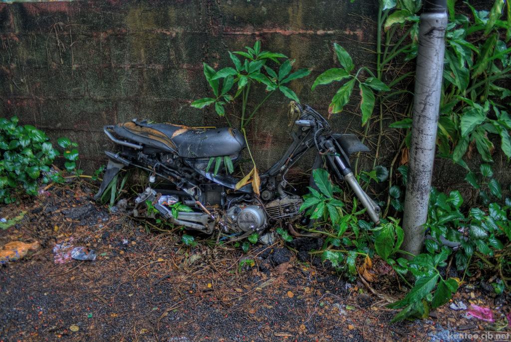 Bike ruins