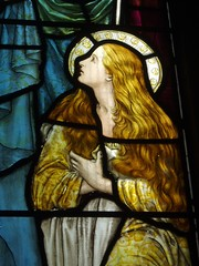Mary Magdalene (Aidan McRae Thomson) Tags: church window stainedglass worcestershire powells hagley henryholiday hagleystjohnbaptist