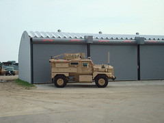 SteelMaster Steel Military Storage Building