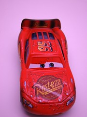 CARS Soaked Lightning mcqueen (1) (jadafiend) Tags: cars wet kids toys team cousins ferrari mater disney tires rhonda pixar target bubba cletus collectors oversized antonio della adults mack showgirls rare exclusive sheila playset disneystore jud f430 pitcrew soaked corsa octane gain buford diecast 3pack hardtofind veloce laverne costanzo 4pack storytellers checkeredflag haulers showstoppers lightningmcqueen finallap brandnewmater rpm64 speedwayofthesouth nostall octain dexterhoover megasized 20pieceset miniandventures haulerset richardclaytonkensington eccelente