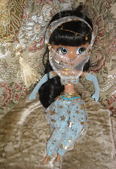Samirah ~ DSCN44066_Pullip_Nahhato_ (applecandy spica) Tags: blue gold doll stock bellydancer arabic arabia pullip arabian magiccarpet genie magiclamp arabiannights nahhato
