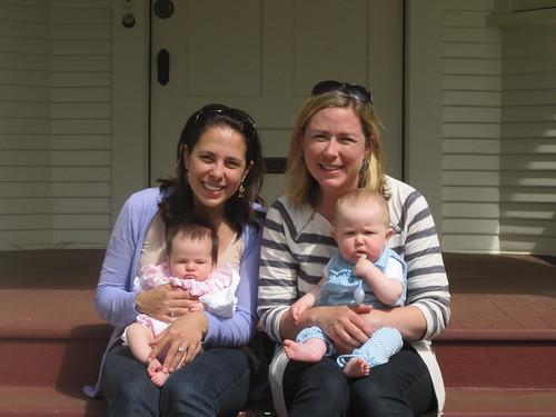 jenn, elle, mara, and esther