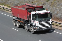 Williams Scania (fannyfadams) Tags: lorry scania anglesey northwales holyhead a55