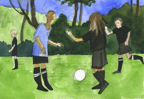 soccer by Bricoleur's Daughter