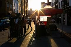 _MG_3532 (Dave Cavanagh Street) Tags: lowermarsh waterloo london streetphotography street lowsun lowlight dayend clearingup warmlight red londonmarket outdoors outside