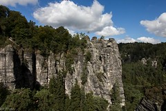 Sachsen (hibf_2004) Tags: bastei urlaub2016 sachsen elbsandsteingebirge urlaub holiday vacation canon eos canoneos70d wald berge steine wolken tannen outdoor lightroom hibf2004