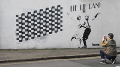Dancing in the Street (ƒliçkrwåy) Tags: bambi street art trump may lielieland lalaland romance dance bowie jagger vandellas london islington marthareeves