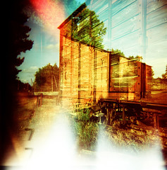(Arnaud Tudoret) Tags: 120 6x6 film mediumformat holga xpro lomography lightleaks squareformat crossprocessing xprocessed damaged vignetting xprocessing leaks superposition e6c41 multiexpo arnaudtudoret crazycolors donkeysoho