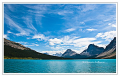 Bow Lake, Banff National Park, Alberta, Canada (dorosario-photos) Tags: canada mountains rockies nationalpark canadian alberta banff bowlake westerncanada crowfootglacier