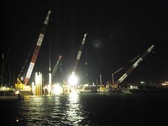 SN201993 (thwl) Tags: bridge marina construction barrage