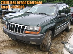 00 Jeep Grand Cherokee -stock #0206P9