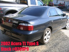 02 Acura TL type S -stock #0209P9