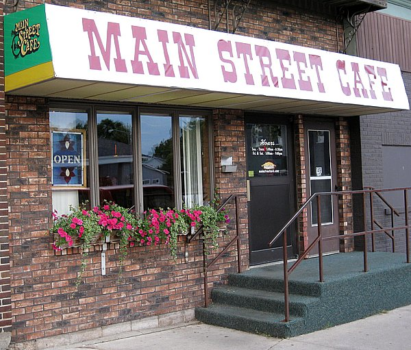 Main Street Cafe Pies Bloomer Wi