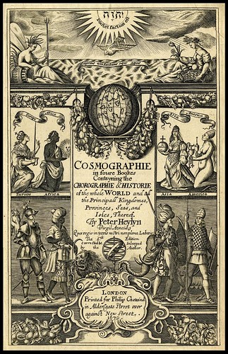 Cosmographie in foure Bookes  1670