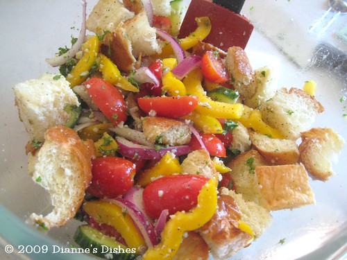 Bread Salad: Tossed