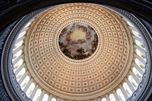 Rotunda Canopy, The Capitol, Washington, DC