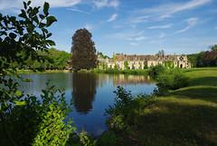 Abbaye des Vaux de Cernay (Martine LB) Tags: abbey reflections pentax explore v 78 arbre reflets tang abbaye yvelines abbayedesvauxdecernay valledechevreuse parcsetjardins lesvauxdecernay titi92 martinelebiannic