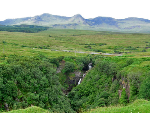 Lealt Falls, Isle of Skye by PMcC in WashDC.