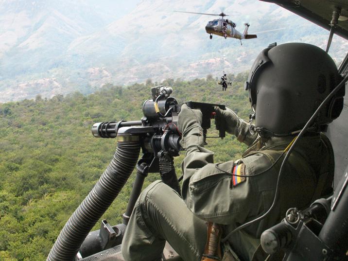 Forças da Colômbia matam 11 rebeldes perto da fronteira com a Venezuela
