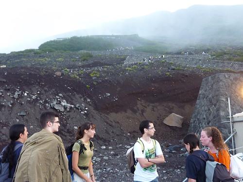 Subida al Fuji 7 (primera estacion)
