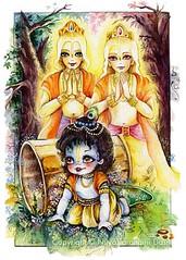 Damodar Krishna -  ISKCON desire tree (ISKCON Desire Tree) Tags: demon krishna radha vrndavana balaram iskcon putana devaki radharani kamsa bakasura aghasura