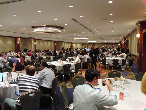 Lunch at Affiliate Summit East 2009