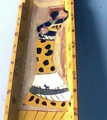 senegalesas (A cor do acaso) Tags: ceramica cores artesanato jardim decora cor telas acrilico telha africanas senegalesa senegalesas