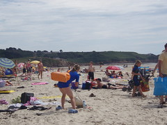 St Ouens Beach in August
