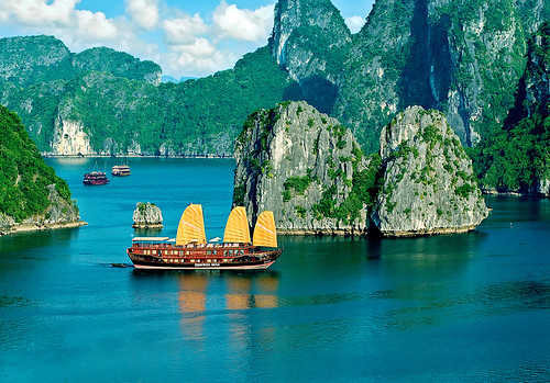 Indochina Sails on Ha Long bay by you.