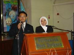 nafi + mira @ program bersama angkasawan malaysia