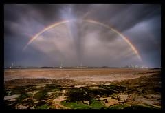 Rainbow (*Richard Cooper *) Tags: new liverpool rainbow brighton hdr mersey wirral newbrighton merseyside