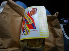 Snack box from Mario's in Newtownmountkennedy