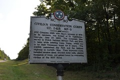 traveling down hwy between shiloh and corinth ms (King Kong 911) Tags: trees camp mississippi flood tennessee alabama young conservation historic corps shiloh markers civilian 1937 thousands confederatesoldiers civilianconservationcorpsco2425mp~3 unionsoldiersmanydied tennesseebattlefieldnationalparkcivilwar