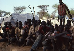 Lost Boys of Sudan (UNHCR) Tags: africa camp youth children war kenya refugees teens orphans civilwar conflict shelter unhcr visibility plasticsheeting camplife sudaneserefugees unaccompaniedminors unrefugeeagency eastandhornofafrica thelostboysofsudan lokichokiotransitcentre