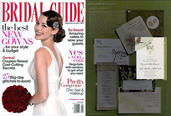 Smock in Bridal Guide Fall 2009