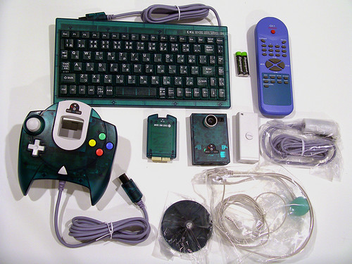 Divers 2000 Dreamcast accessories